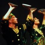 Penampilan Seniman Tasdance (joshua Low) asal Australia dan Tamara Asal Serbia - Dok. Wisnu Parstawa