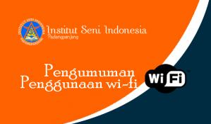 pengumuman wifi