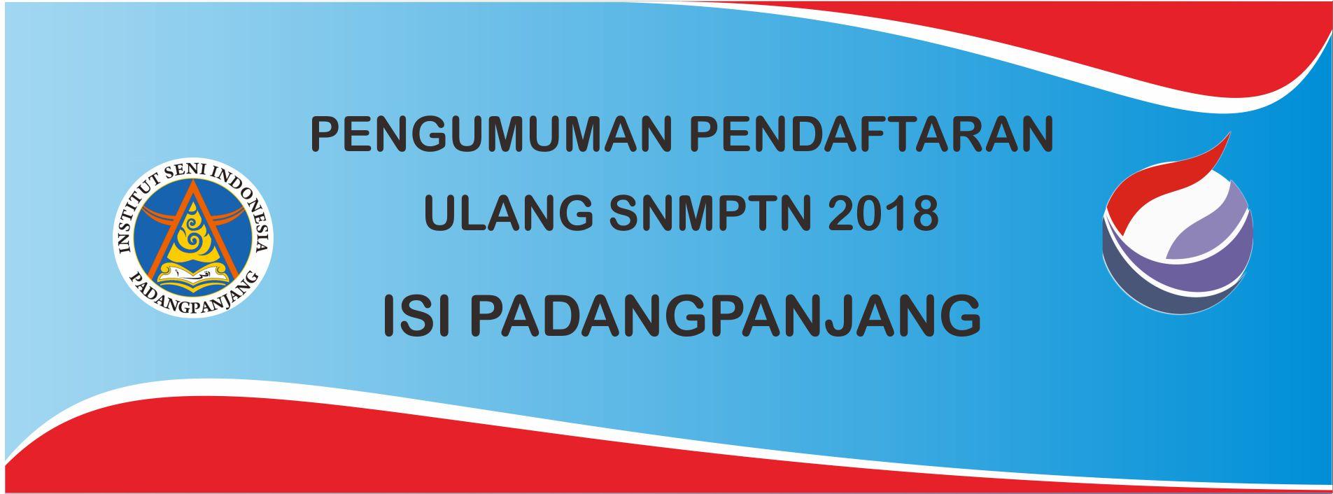 Pengumuman Pendaftaran Ulang SNMPTN 2018