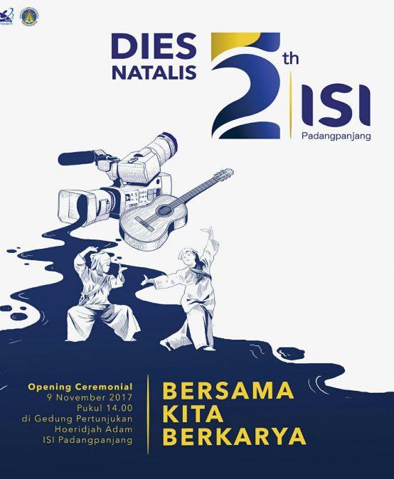 Opening Ceremonial Dies Natalis ISI Padangpanjang ke 52