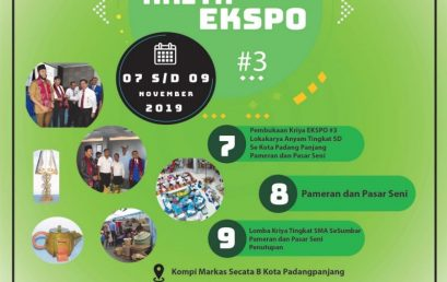 Kriya Expo #3 – Inovasi Kreatif Produk Handycraft Masa Kini