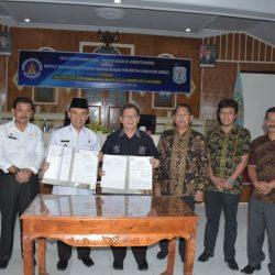 Foto Bersama Pemkab Kerinci dan ISI Padangpanjang