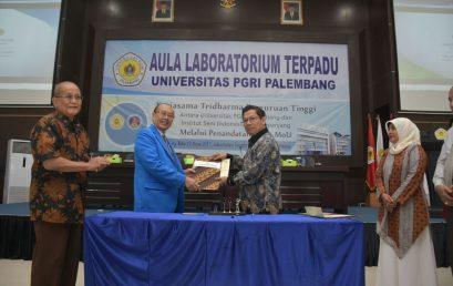 Kembangkan Sayap di Palembang, ISI Padangpanjang Sepakat Kembangkan Tridharma Perguruan Tinggi Dengan Universitas PGRI