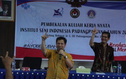 Program KKN Mahasiswa ISI Padangpanjang Dibiayai Negara