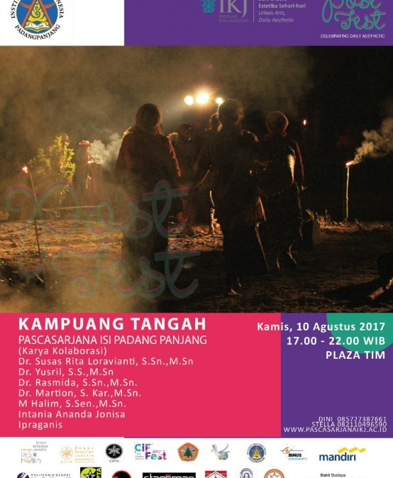 Kampuang Tangah – Post Fest Celebrating Daily Aesthetic