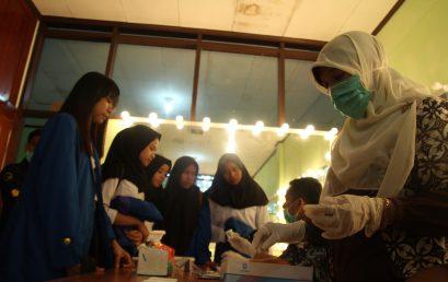 ISI Padangpanjang Laksanakan Tes Urine kepada 624 Mahasiswa Baru