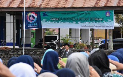 ISI Padangpanjang Laksanakan Upacara Peringatan Hari Sumpah Pemuda ke-89