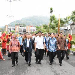 Dokumentasi UPT PUSINDOK SBM - Penyambutan Kedatangan Wakil Rektor Bidang Akademik Badan Kejasama Perguruan Tinggi Negeri Wilayah Indonesia Bagian Barat (BKS-PTN Barat)