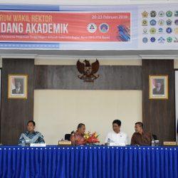 Dokumentasi UPT PUSINDOK SBM - Forum Wakil Rektor Bidang Akademik BKSPTN Barat