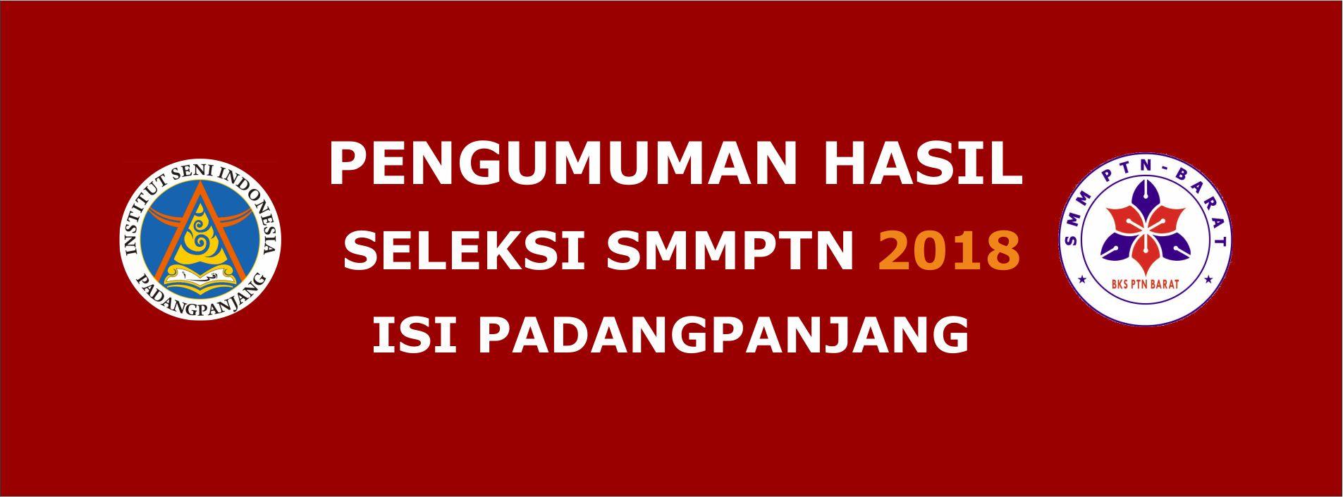 DAFTAR LULUSAN SMM PTN-BARAT 2018 ISI PADANGPANJANG