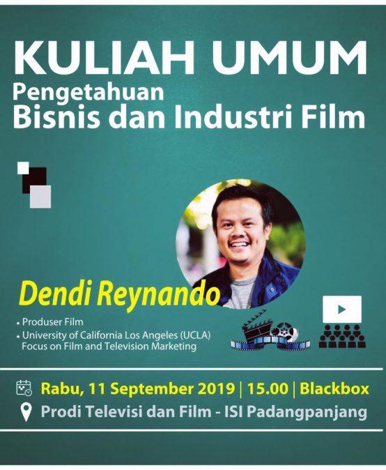 Kuliah Umum Pengetahuan Bisnis dan Industri Film