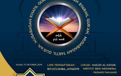 MTQ Nasional Tingkat Mahasiswa Se – Sumatera Barat
