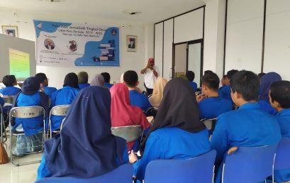 Unit Kegiatan Mahasiswa Pers (UKM-Pers) ISI Padang Panjang menggelar Pelatihan Jurnalistik Tingkat Dasar