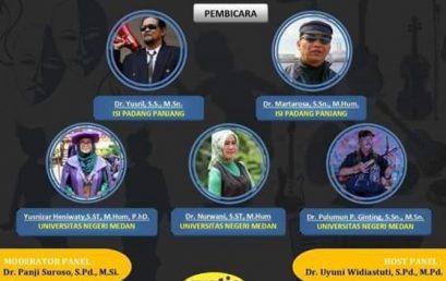 Webinar Bincang Seni Memacu Kreativitas Seni Saat Pandemi Bersama Pakar Seni Indonesia