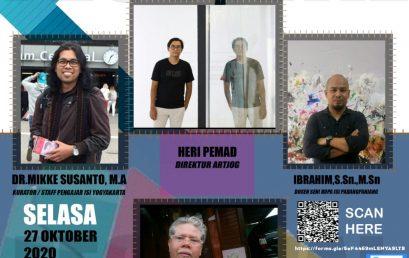 Webinar Manajemen Festival – Menelusuri Lorong Virtual
