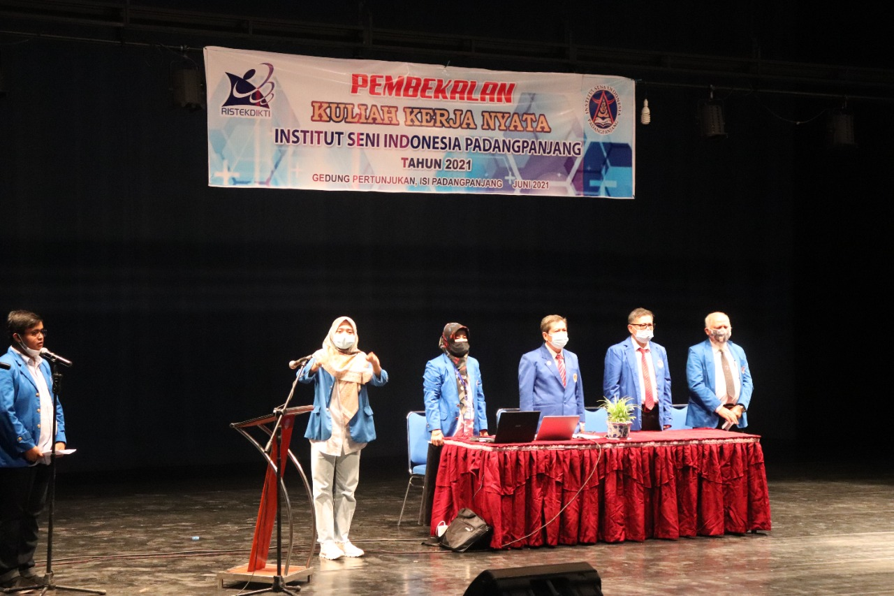 Pembekalan Kuliah Kerja Nyata (KKN) Mahasiswa ISI Padangpanjang