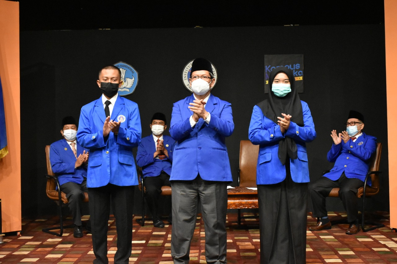 """PKKMB ISI Padangpanjang 2021, Selamat Datang Mahasiswa Baru ISI Padangpanjang, di Kampus """"The Best Arts and Creativity Setter in the Future"""""""