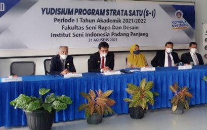 FSRD ISI Padang Panjang Melaksanakan Yudisium Periode I